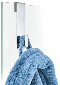 Blomus Areo Hook For Glass Shower Panels RVS gepolijst 68915