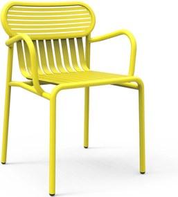 Petite Friture Week-end Armchair tuinstoel geel
