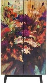 Kare Design Fleur Mangohouten Wandkast - 76x30x140cm.