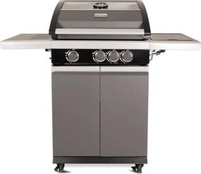 Patton Patio Pro Chef gasbarbecue 3+1 frozen grey