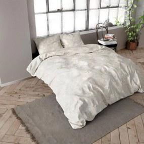 DreamHouse Bedding Caitlyn - Verwarmend Flanel - Zand 1-persoons (140 x 200/220 cm + 1 kussensloop) Dekbedovertrek