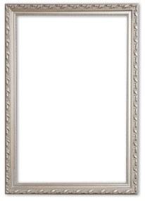 Barok Lijst 40x40 cm Zilver - Abigail