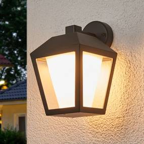 Donkere LED buitenwandlamp Keralyn - lampen-24