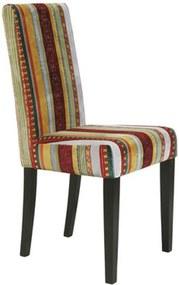 Kare Design Very British Eetkamerstoel Kleurrijk Fluweel