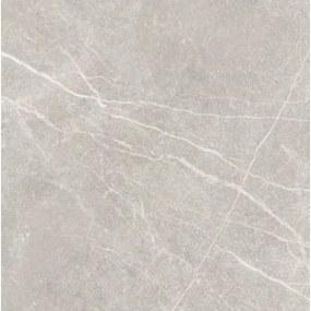 Kerabo Vloer- en wandtegel Shetd Grijs 60x60 mat cm Gerectificeerd Marmer look Mat Grijs SW07311600