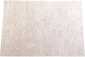 CALIER Tapijt grijs, gebroken wit B 200 x L 290 cm