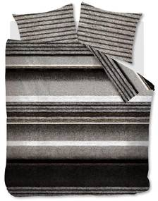 Rivièra Maison - RM Mohair Duvet Cover brown 240x200/220 - Kleur: bruin