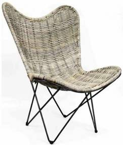 Vlinderstoel Grey