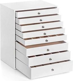 Nancy's Sieradendoos met 8 lagen - Juwelendoos - Sieradenbox
