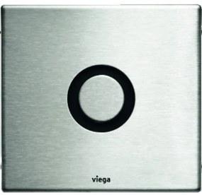 Viega Visign Bedieningspaneel closet/urinoir H1xB14xL15cm waterbesparend RVS 735 517