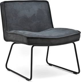 By-Boo Montana Retro Fauteuil Antraciet