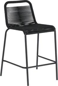 Kave Home Lambton Barstoel Voor Buiten Laag Zwart