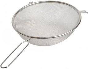 Bolzeef met steel, roestvrij staal, Ø 25 cm