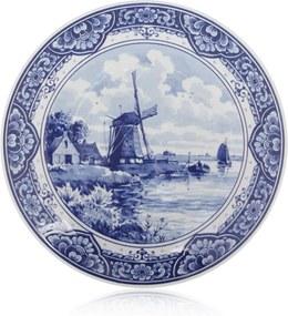 Royal Delft Delftsblauw bord 25 cm