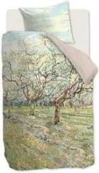 Beddinghouse Orchard katoensatijn dekbedovertrekset 220TC - inclusief kussenslopen