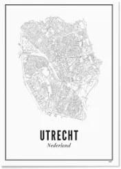 WIJCK- Utrecht Stad print