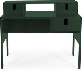 Tenzo Uno Houten Bureau Groen - 105 X 50cm.