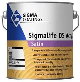 Sigma Sigmalife DS Acryl Satin - Mengkleur - 2,5 l