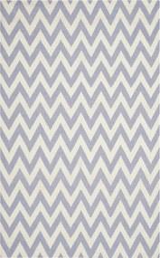 Safavieh | Handgeweven vloerkleed Nelli Dhurrie 120 x 180 cm paars, ivoor vloerkleden wol, katoen vloerkleden & woontextiel | NADUVI outlet