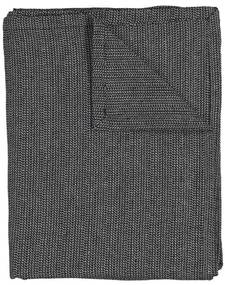 Tafelkleed 140x240 Chambray Katoen Zwart/wit (zwart/wit)