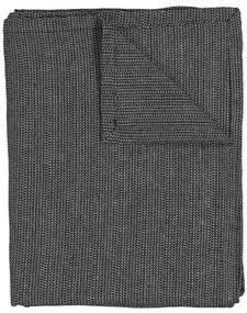 Tafelkleed - 140 X 240 - Cambray Katoen - Zwart/wit (zwart/wit)