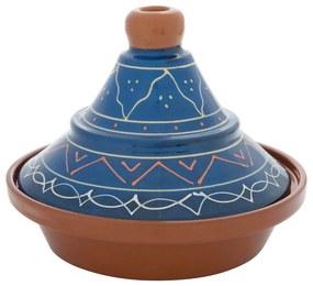 Tajine Fiesta - blauw - 27 cm