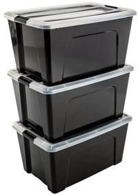 Iris New Top opbergbox - 3 stuks - 45 liter