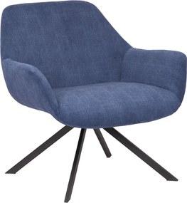 Loungestoel Hati - Donkerblauw