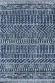 Louis de Poortere - Khayma Agadir Scarab Blue 8676 - 170 x 240 - Vloerkleed