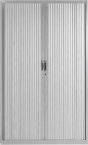 Roldeurkast Proline 198 x 120 cm incl. 4 legborden - Aluminium