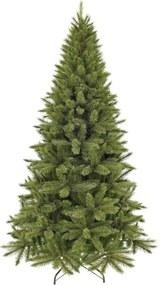 Forest Frosted Pine kunstkerstboom groen slim d86 h155 cm