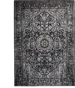 Vloerkleed Chi 160 x 230 - zwart
