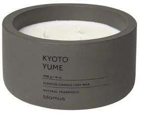 Blomus Fraga Geurkaars Kyoto Yume H 6.5cm Diameter 13 cm Tarmac 65962