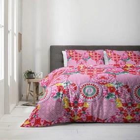 Fresh & Co Dekbedovertrek Colorful Mandala 1-persoons (140 x 200/220 cm) Dekbedovertrek