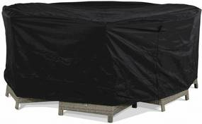 Outdoor Cover tuinsethoes rond 320 cm x (h) 85 cm