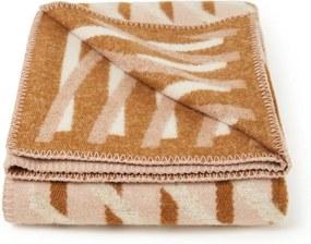 Røros Tweed Bislett plaid van lamswol 135 x 200 cm
