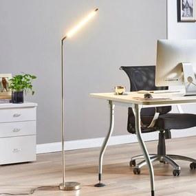 Minimalistische LED-vloerlamp Jabbo voor het lezen - lampen-24