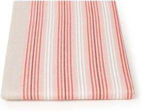 Pip Studio Blushing Birds Stripes tafelkleed van katoen 250 x 150 cm
