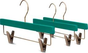 YourHanger stijlvolle  groene broekhangers