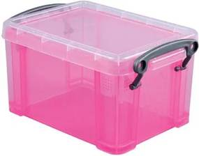 1,6 liter, transparant roze