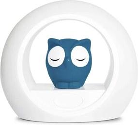 Nachtlampje Uil - Blauw - Nachtlamp slaaptrainer