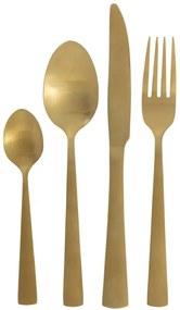 16-delige Bestekset Copenhagen Goud (Gold)
