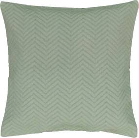 Kussenhoes 50x50 Recycled Zigzag Groen