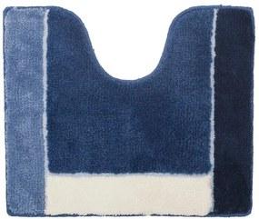 Sealskin Roma toiletmat acryl 45x55cm midden blauw 293315021