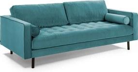 Kave Home Debra 3-zits Bank Turquoise