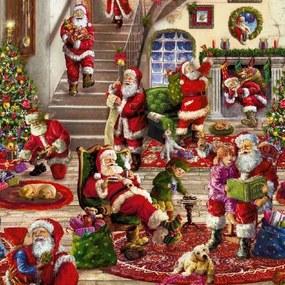 Kerst Tafelzeil Christmas House