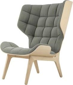 Norr11 Mammoth Chair - Fauteuil - Canvas- Hout - Retro - Vintage - Katoen - Linnen - Design - Lounge stoel - Scandinavisch
