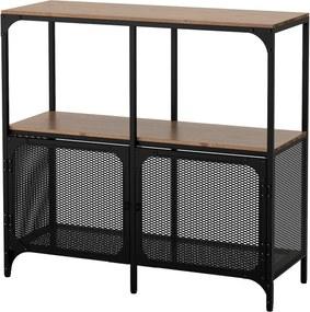 IKEA FJÄLLBO Stellingkast 100x95 cm zwart - lKEA