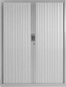 Roldeurkast Proline 160 x 120 cm incl. 3 legborden - Aluminium