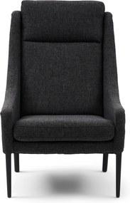 Rivièra Maison - Vendome Armchair, mélane weave, carbon - Kleur: zwart